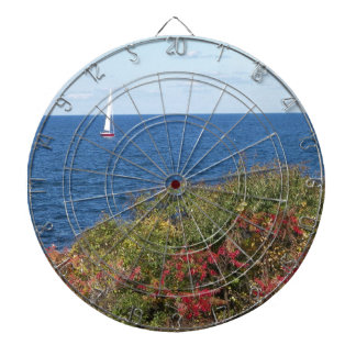 Halibut Point - Rockport Dartboard With Darts