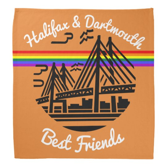 Halifax  Dartmouth best friends   bandana