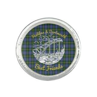Halifax Dartmouth best friends N.S. ring  tartan