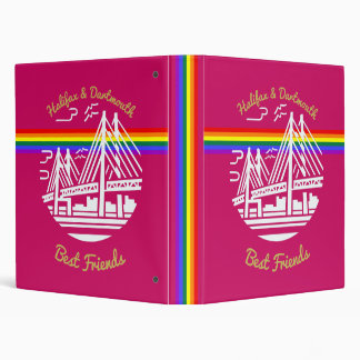 Halifax Dartmouth best friends Pride binder