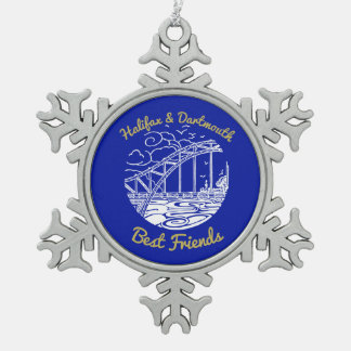 Halifax Dartmouth bridge N.S. Best Friend ornament