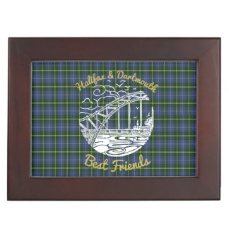 Halifax Dartmouth friend memory picture box tartan