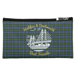Halifax Dartmouth  friends tartan cosmetic bag
