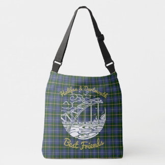 Halifax Dartmouth N.S. Best Friends  bag  tartan