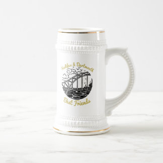 Halifax Dartmouth N.S. Best Friends beer stein