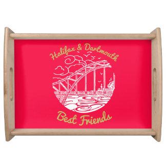 Halifax Dartmouth N.S. Best Friends tray pink