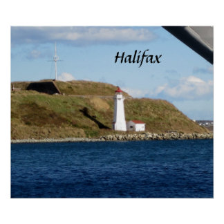 Halifax Lighthouse Poster