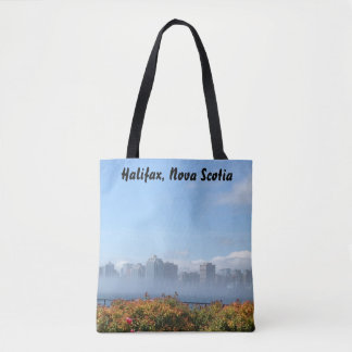 Halifax, Nova Scotia waterfront tote bag