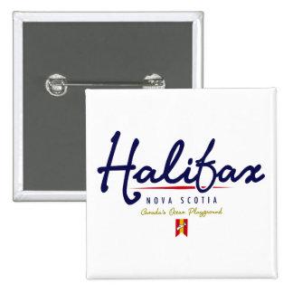 Halifax Script Pin