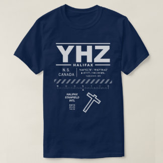 Halifax Stanfield Int'l Airport YHZ T-Shirt