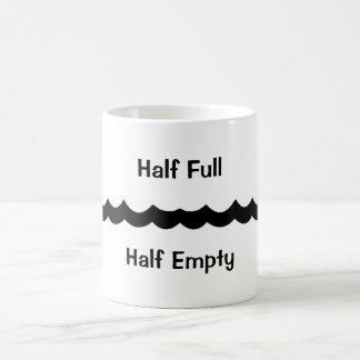 Hall Full Half Empty Coffee Mug