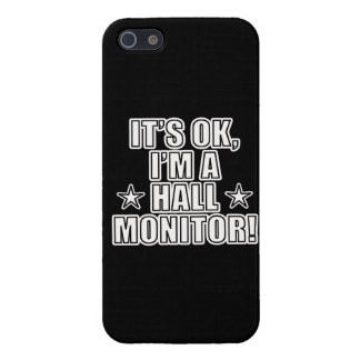Hall Monitor Case For iPhone 5/5S