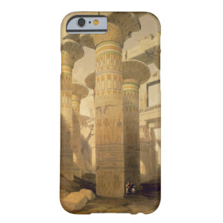 """Hall of Columns, Karnak, from """"Egypt and Nubia"""", V Barely There iPhone 6 Case"""