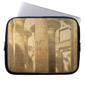 """Hall of Columns, Karnak, from """"Egypt and Nubia"""", V Computer Sleeve"""