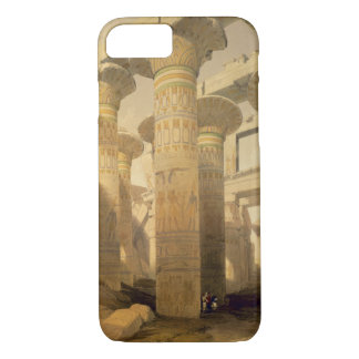 "Hall of Columns, Karnak, from ""Egypt and Nubia"", V iPhone 7 Case"