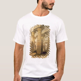 """Hall of Columns, Karnak, from """"Egypt and Nubia"""", V T-Shirt"""