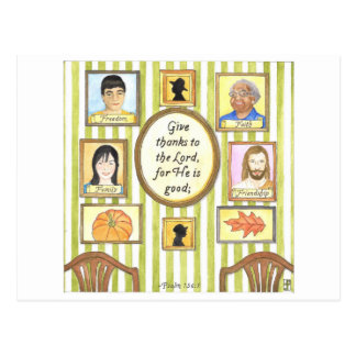Hall of Faith Inspirational Postcard