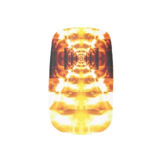 Hall of flame Nail art