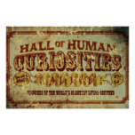 Hall of Human Curiosities Poster