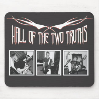 Hall of the Two Truths Mouse Pad