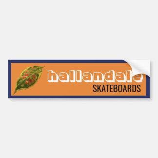 Hallandale Skateboards Sticker