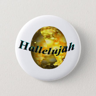 Hallelujah 2 Inch Round Button