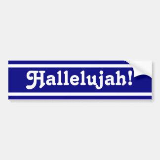 Hallelujah! Bumper Sticker
