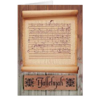 Hallelujah Card