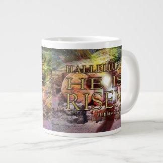 Hallelujah! He is RISEN! Jumbo 20 Oz. Coffee Mug