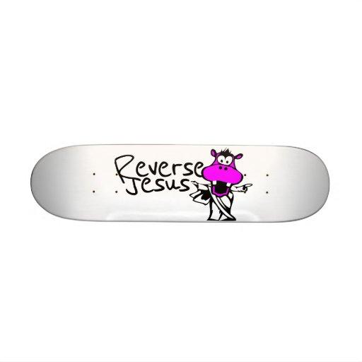 Hallelujah Hippo Custom Skate Board