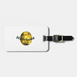 Hallelujah Luggage Tag