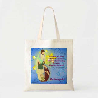 Hallelujah!! Our Savior Is Born Tote Bag
