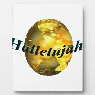 Hallelujah Plaque