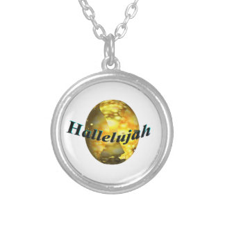 Hallelujah Silver Plated Necklace