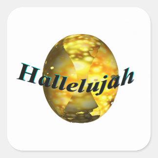 Hallelujah Square Sticker