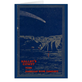 """HALLEY'S COMET"" Greeting Card"