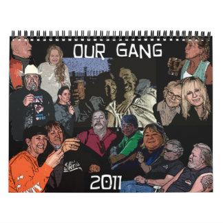 Halliday Calendar 2011 #Black