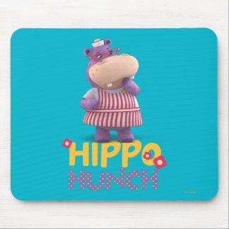 Hallie - Hippo Hunch Mouse Pad
