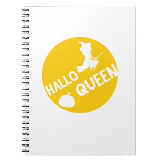 HalloQueen Halloween Witch Funny  Halloween 2017 Notebooks