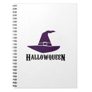 HalloQueen Halloween Witch Funny  men women Notebook