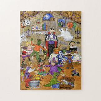 HalloScream Party Halloween Puzzle
