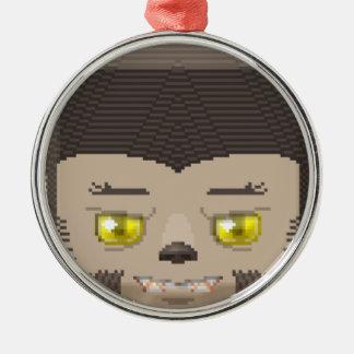 Hallow lyco Silver-Colored round ornament