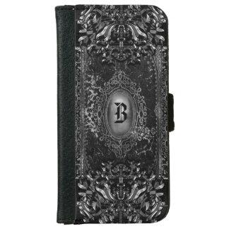 Hallow Shade 6/6s Victorian Goth Monogram iPhone 6 Wallet Case