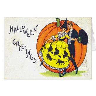 Hallowe en Greetings Card