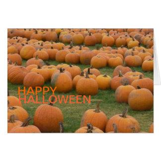 Hallowee Pumpkins Greeting Card