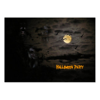Halloween #1 business card templates