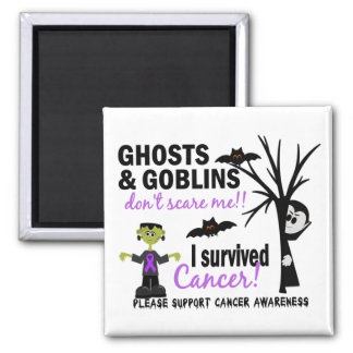 Halloween 1 Cancer Survivor Magnet