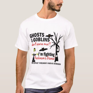 Halloween 1 Parkinson's Disease Warrior T-Shirt