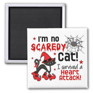 Halloween 2 Heart Attack Survivor Fridge Magnets