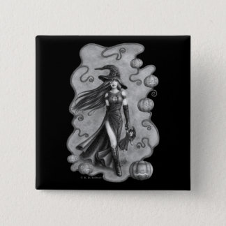 Halloween 2 Inch Square Button